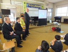薬物乱用防止教室 野々浜小学校