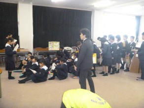 薬物乱用防止教室(春日小学校)