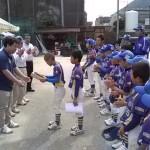 少年野球大会アワード用